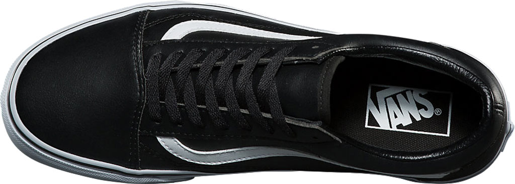 Vans Old Skool Sneaker, Classic Tumble Black Synthetic/True White, large, image 4