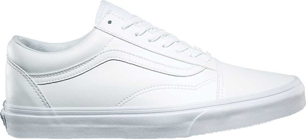 Vans Old Skool Sneaker, Classic Tumble True White Synthetic, large, image 2