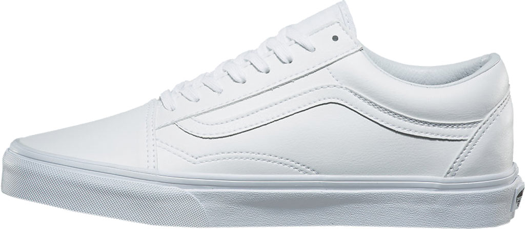 Vans Old Skool Sneaker, Classic Tumble True White Synthetic, large, image 3