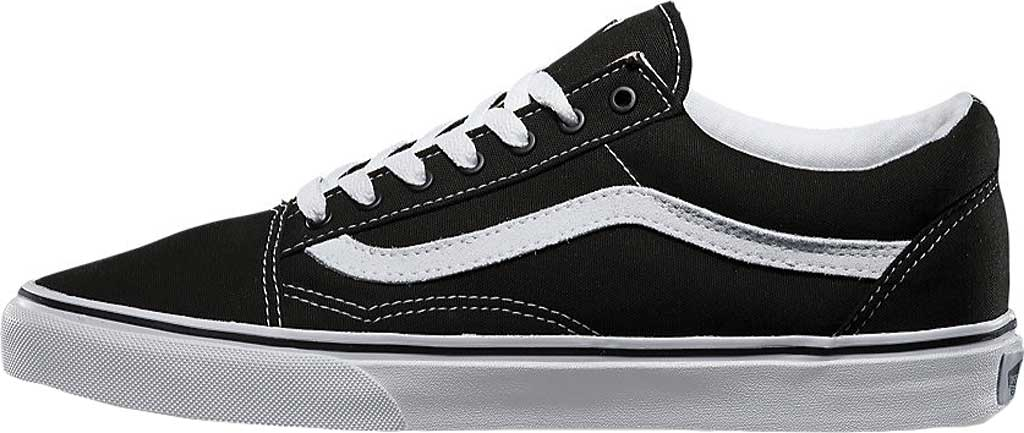 Vans Old Skool Sneaker, Black/True White (Canvas), large, image 3