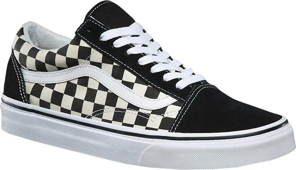 Vans Old Skool Sneaker, Primary Check Black/White, large, image 1