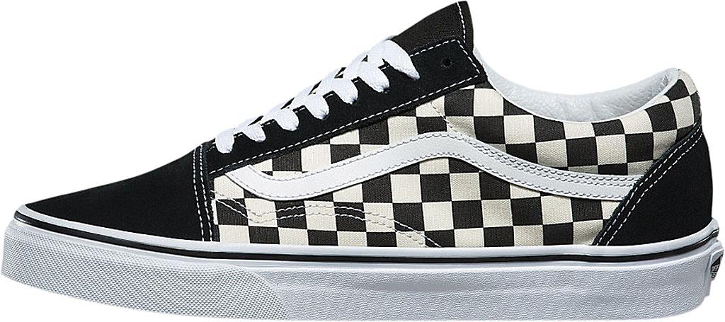 Vans Old Skool Sneaker, Primary Check Black/White, large, image 3