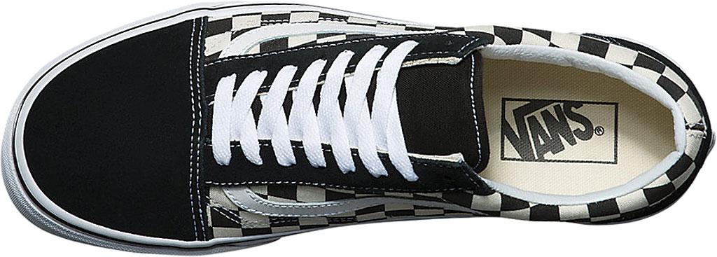 Vans Old Skool Sneaker, Primary Check Black/White, large, image 4