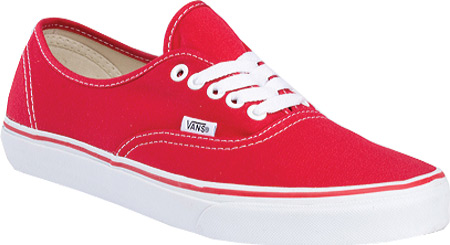 Vans Authentic Sneaker, Red, large, image 1