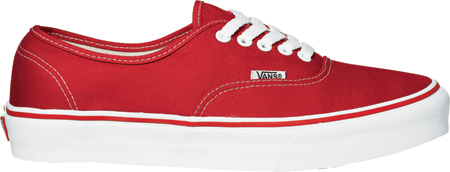 Vans Authentic Sneaker, Red, large, image 2