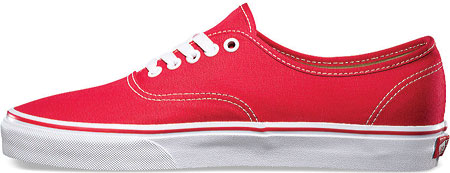 Vans Authentic Sneaker, Red, large, image 3