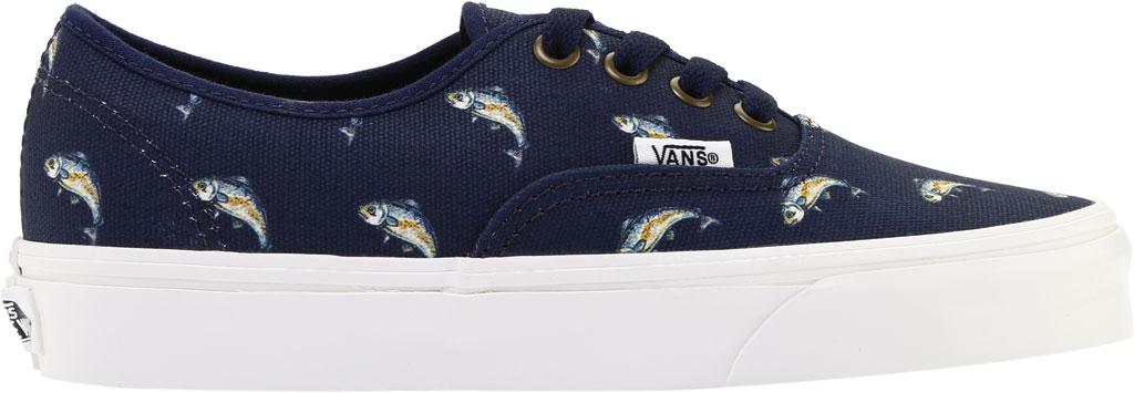 Vans Authentic Sneaker, Dress Blues Canvas/Fish, large, image 2