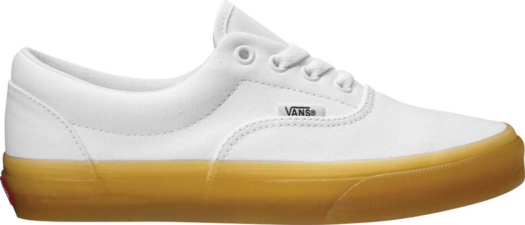Vans Era Sneaker, (Double Lite Gum) True White/Tinsel, large, image 1
