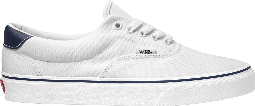 Vans C&L Era 59, (C&L) True White/Dress Blues, large, image 1