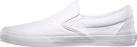 Infant Vans Classic Slip-On, True White, large, image 3
