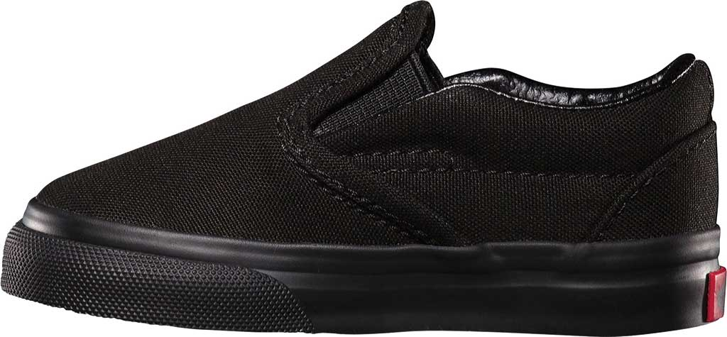 Infant Vans Classic Slip-On, Black/Black, large, image 3