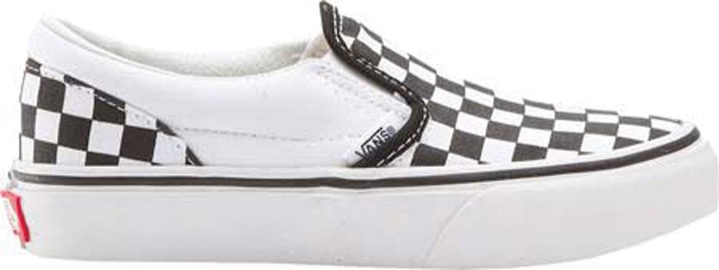 Infant Vans Classic Slip-On, Black/White Checker/White, large, image 2