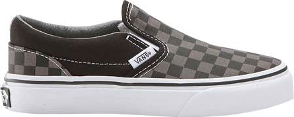 Infant Vans Classic Slip-On, Black/Pewter Checker/Black, large, image 2