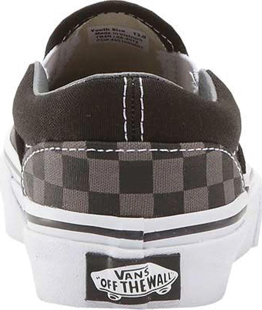 Infant Vans Classic Slip-On, Black/Pewter Checker/Black, large, image 4