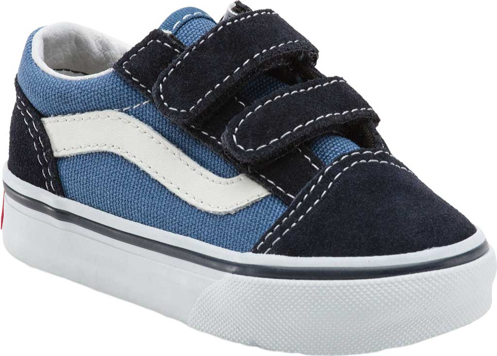 Infant Vans Old Skool V, Navy, large, image 1