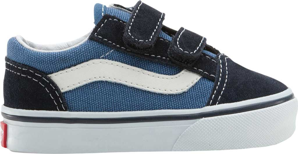 Infant Vans Old Skool V, Navy, large, image 2