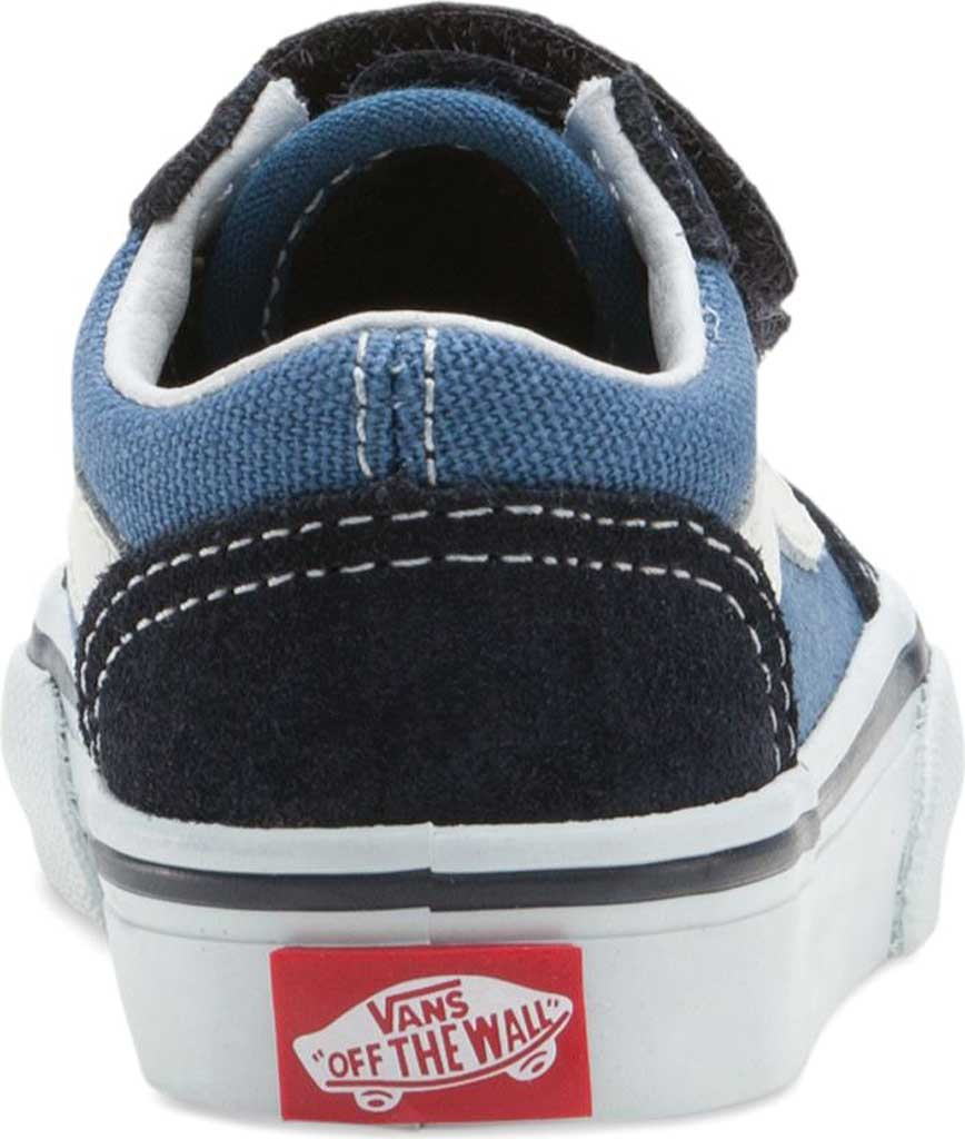 Infant Vans Old Skool V, Navy, large, image 4