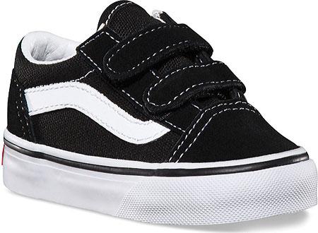 Infant Vans Old Skool V, Black, large, image 1