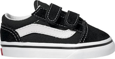 Infant Vans Old Skool V, Black, large, image 2
