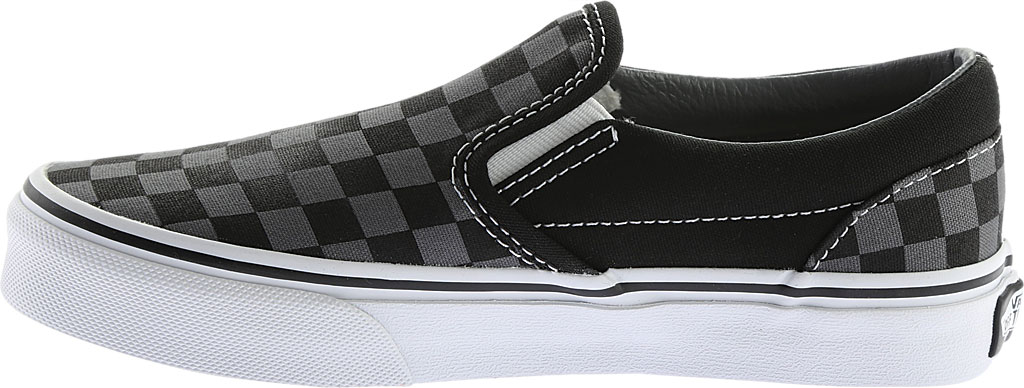 Children's Vans Classic Slip-On, Checkerboard Black/Pewter, large, image 3