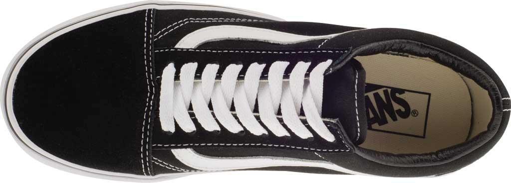 Vans Old Skool Platform Sneaker, Black/White, large, image 5