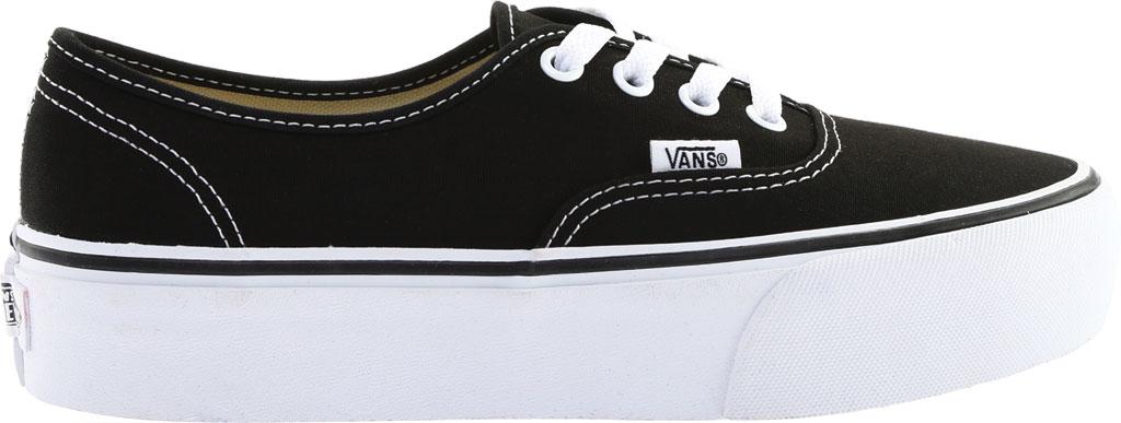 Vans Authentic Platform 2.0 Sneaker, Black Canvas, large, image 2