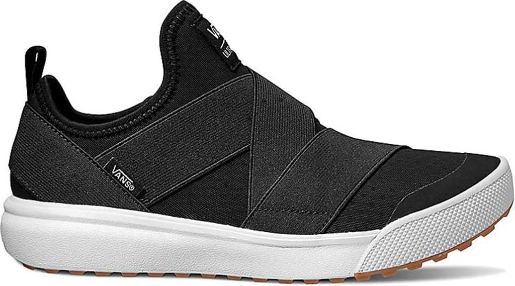 Vans UltraRange Gore Slip-On Sneaker, Black Textile, large, image 1