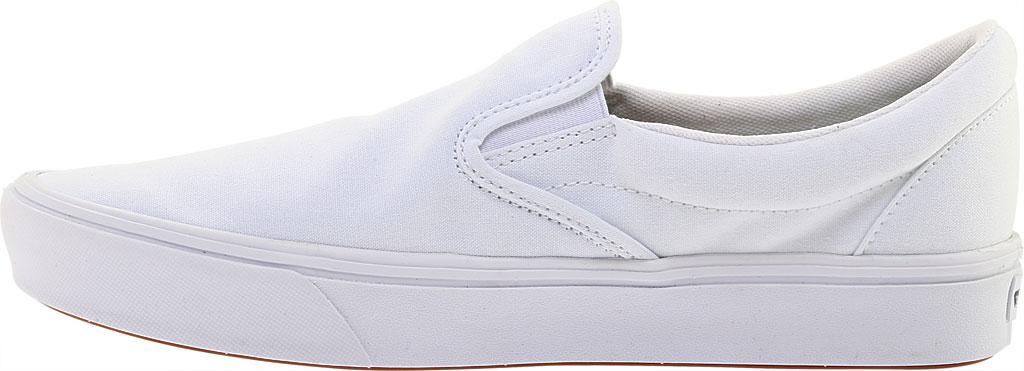 Vans ComfyCush Slip-On, Classic True White/True White, large, image 3