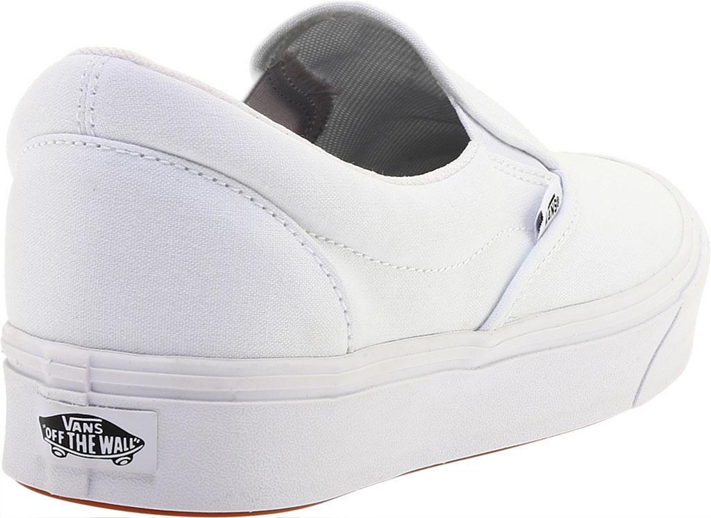 Vans ComfyCush Slip-On, Classic True White/True White, large, image 4