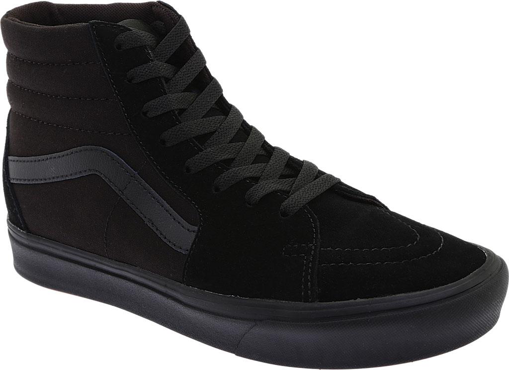 Vans ComfyCush SK8-Hi Sneaker, Classic Black/Black Suede/Canvas, large, image 1