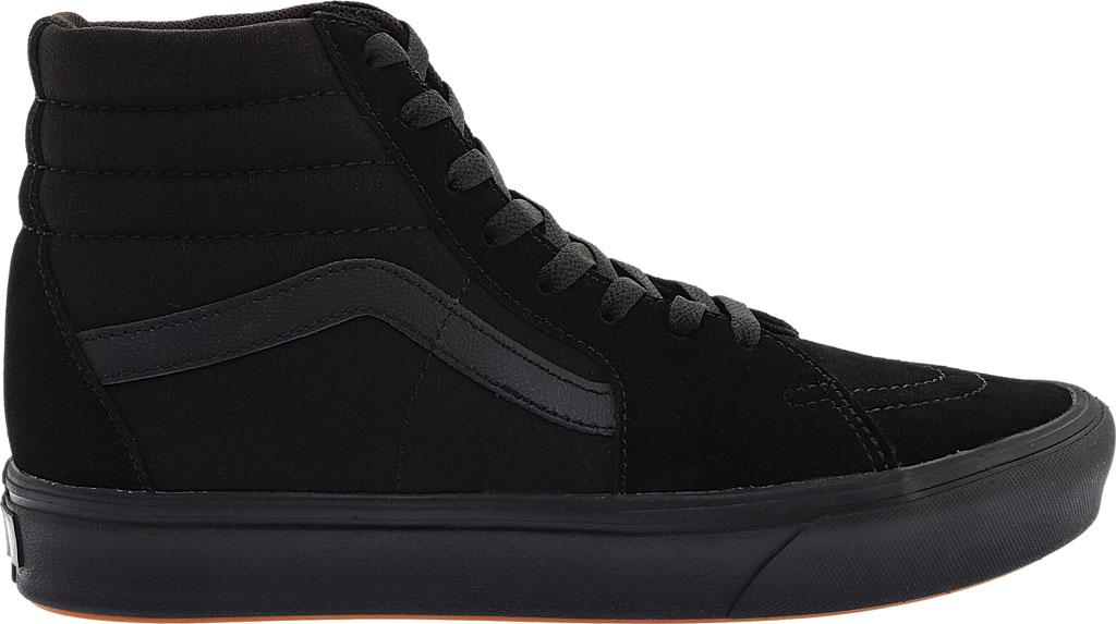 Vans ComfyCush SK8-Hi Sneaker, Classic Black/Black Suede/Canvas, large, image 2