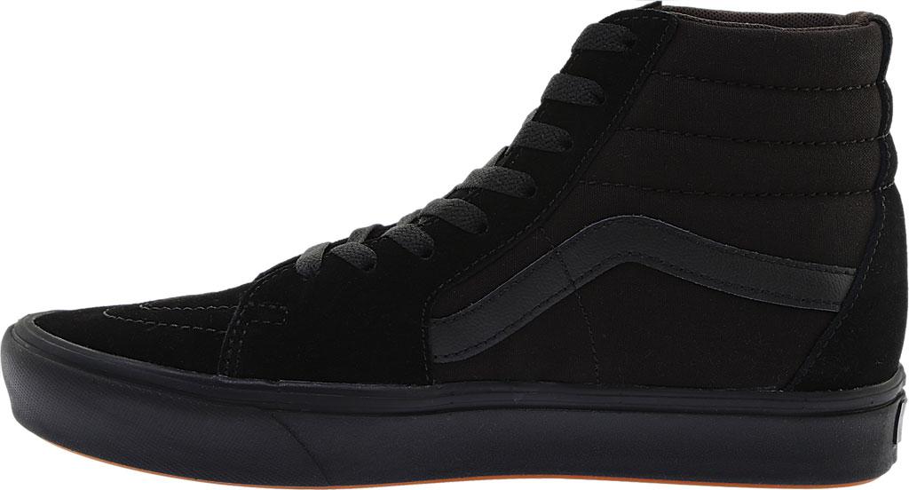 Vans ComfyCush SK8-Hi Sneaker, Classic Black/Black Suede/Canvas, large, image 3