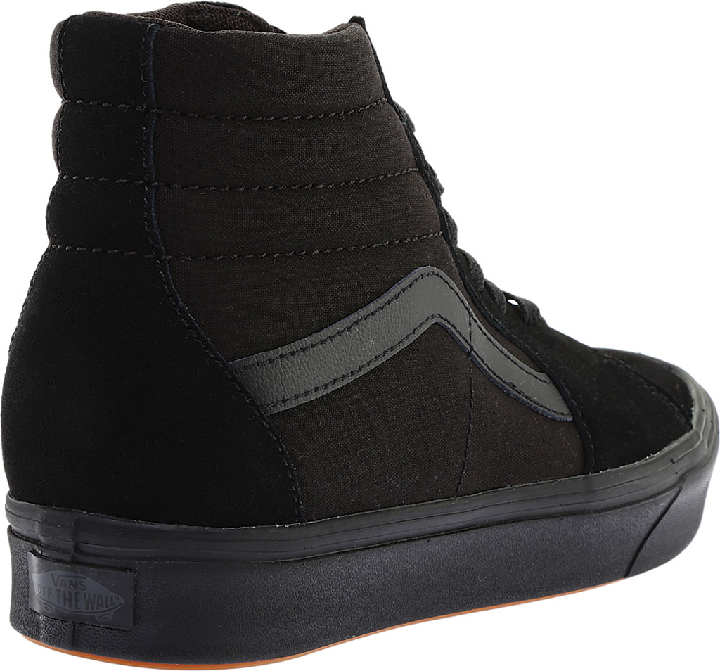 Vans ComfyCush SK8-Hi Sneaker, Classic Black/Black Suede/Canvas, large, image 4
