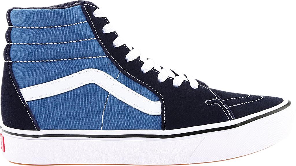 Vans ComfyCush SK8-Hi Sneaker, Classic Navy/STV Navy Suede/Canvas, large, image 2