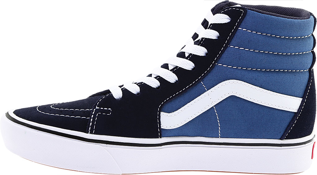 Vans ComfyCush SK8-Hi Sneaker, Classic Navy/STV Navy Suede/Canvas, large, image 3