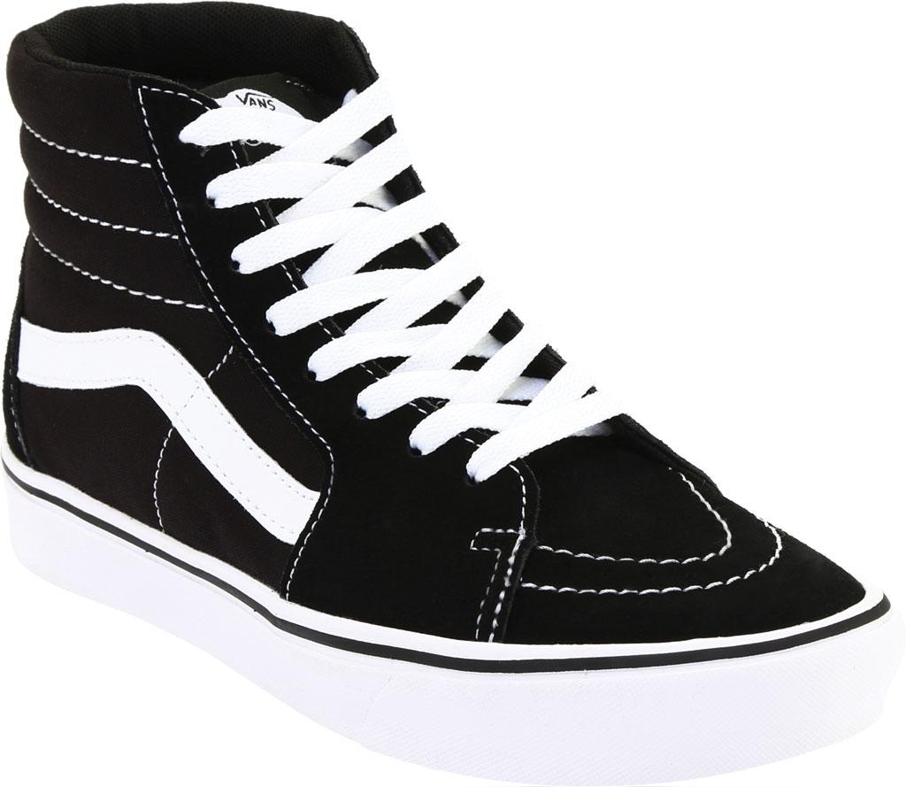 Vans ComfyCush SK8-Hi Sneaker, Classic True White/True White Canvas, large, image 1