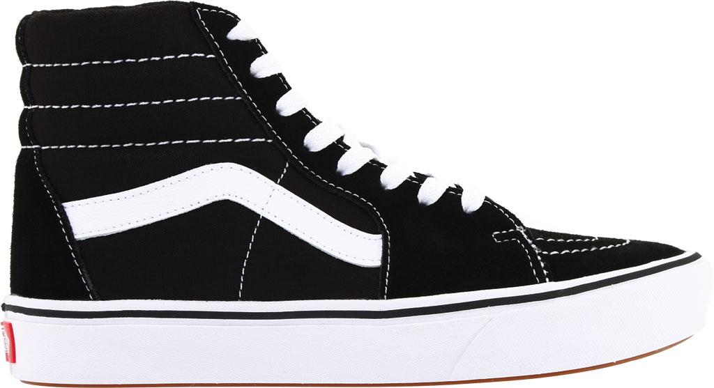 Vans ComfyCush SK8-Hi Sneaker, Classic True White/True White Canvas, large, image 2