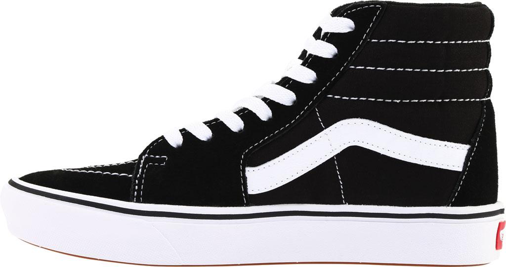 Vans ComfyCush SK8-Hi Sneaker, Classic True White/True White Canvas, large, image 3
