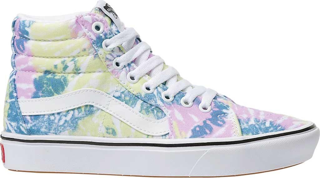 Vans ComfyCush SK8-Hi Sneaker, (Tie-Dye) Orchid/True White, large, image 2