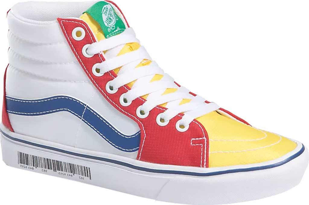 Vans ComfyCush SK8-Hi Sneaker, (Retro Mart) Barcode/Multi, large, image 1