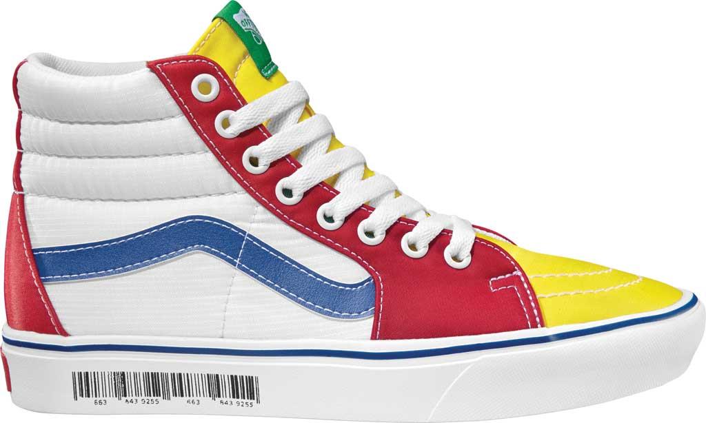 Vans ComfyCush SK8-Hi Sneaker, (Retro Mart) Barcode/Multi, large, image 2