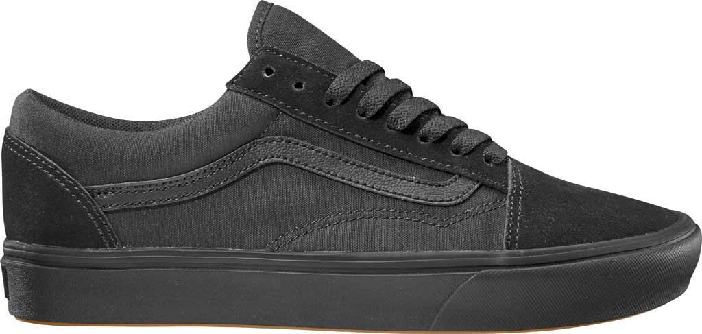 Vans ComfyCush Old Skool Sneaker, Classic Black/Black Suede/Canvas, large, image 1