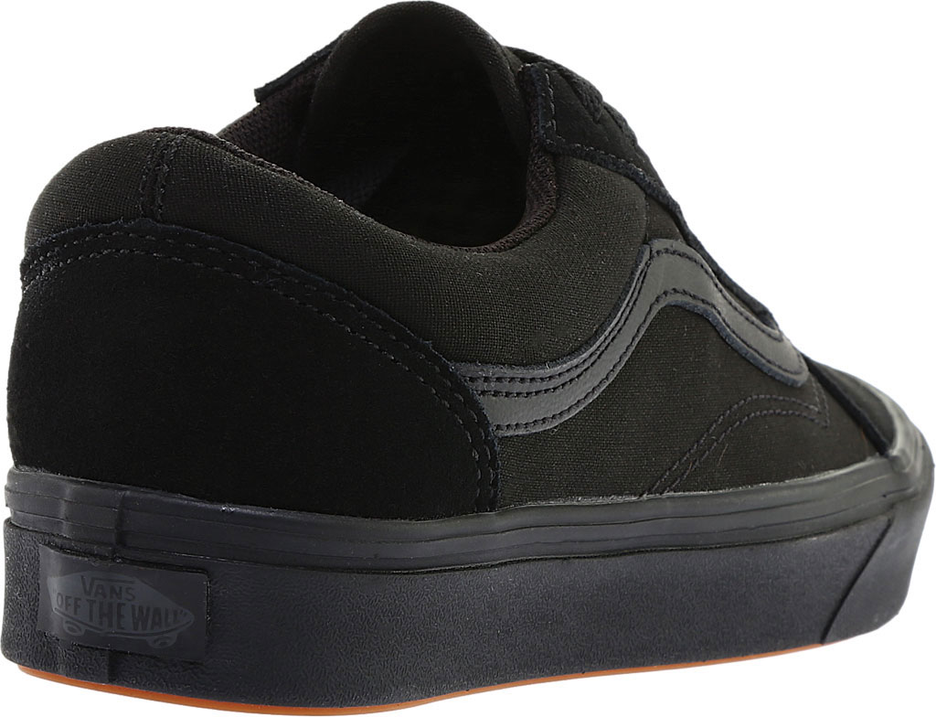 Vans ComfyCush Old Skool Sneaker, Classic Black/Black Suede/Canvas, large, image 4
