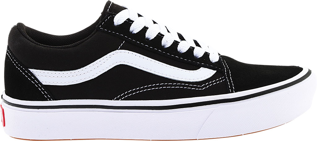 Vans ComfyCush Old Skool Sneaker, Classic Black/True White Suede/Canvas, large, image 2