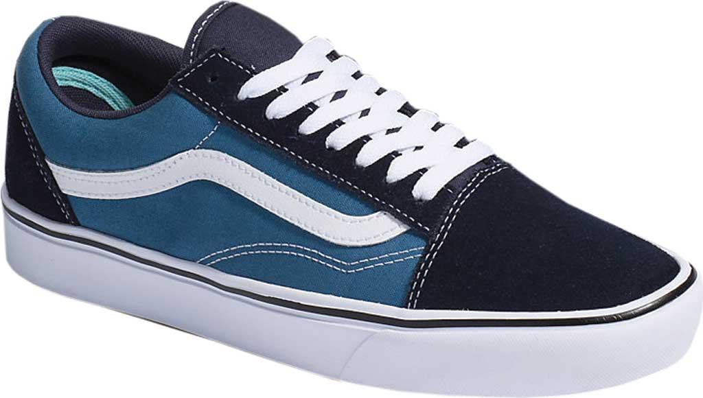 Vans ComfyCush Old Skool Sneaker, Classic Navy/STV Navy Suede/Canvas, large, image 1