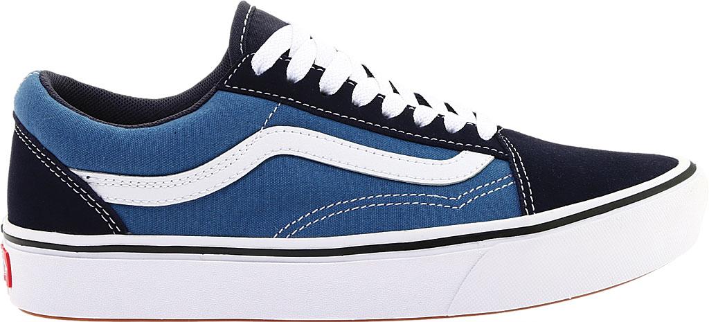 Vans ComfyCush Old Skool Sneaker, Classic Navy/STV Navy Suede/Canvas, large, image 2
