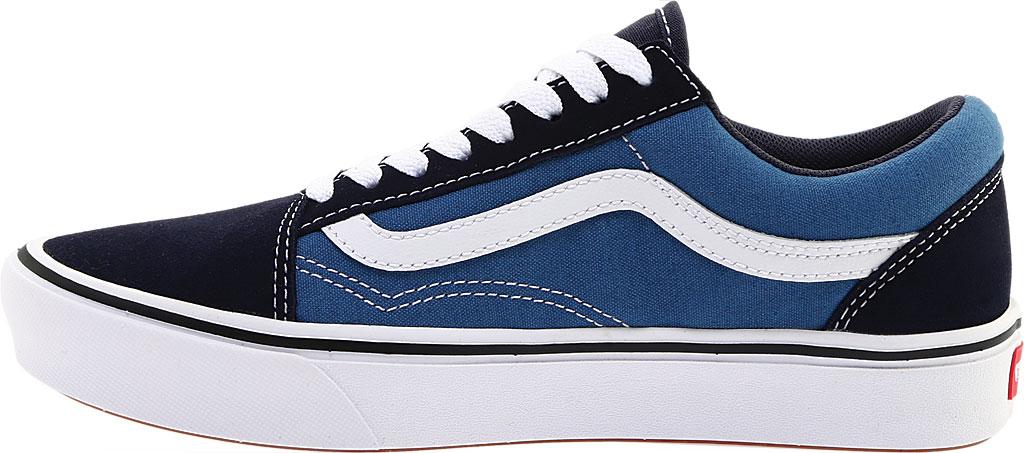 Vans ComfyCush Old Skool Sneaker, Classic Navy/STV Navy Suede/Canvas, large, image 3