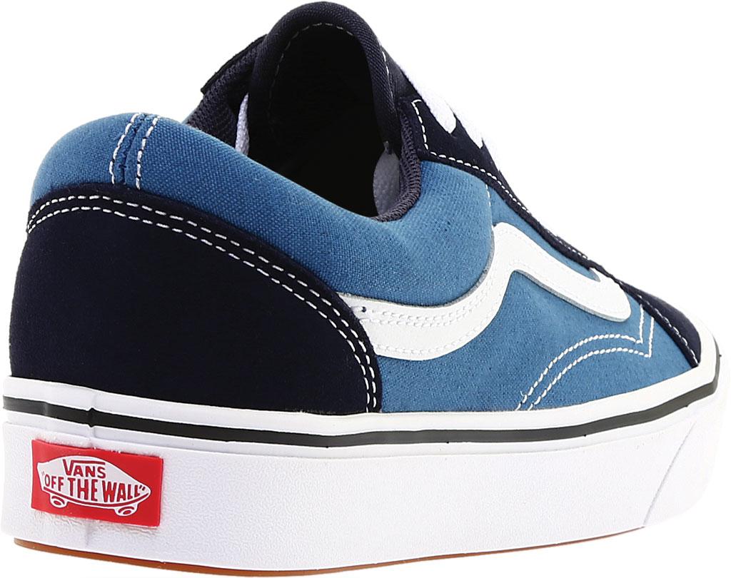 Vans ComfyCush Old Skool Sneaker, Classic Navy/STV Navy Suede/Canvas, large, image 4