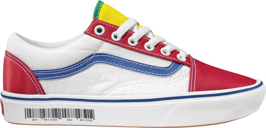 Vans ComfyCush Old Skool Sneaker, (Retro Mart) Barcode/Multi, large, image 1