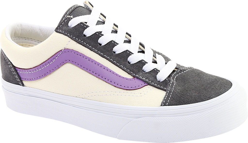 Vans Style 36 Sneaker, Quiet Shade Suede/Canvas/Fairy Wren, large, image 1
